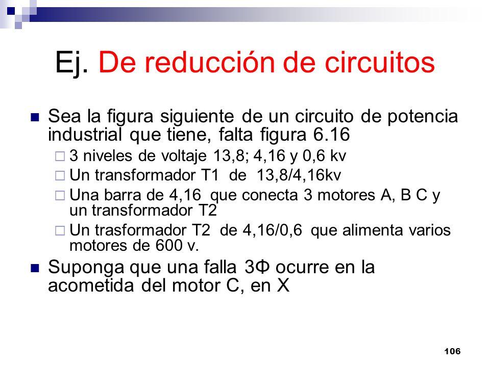 Ej. De reducción de circuitos