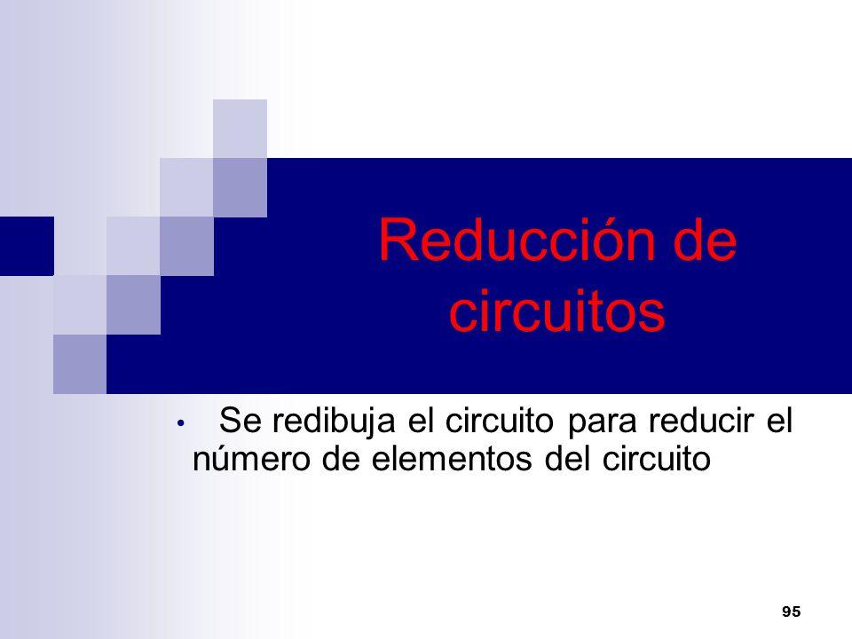 Reducción de circuitos