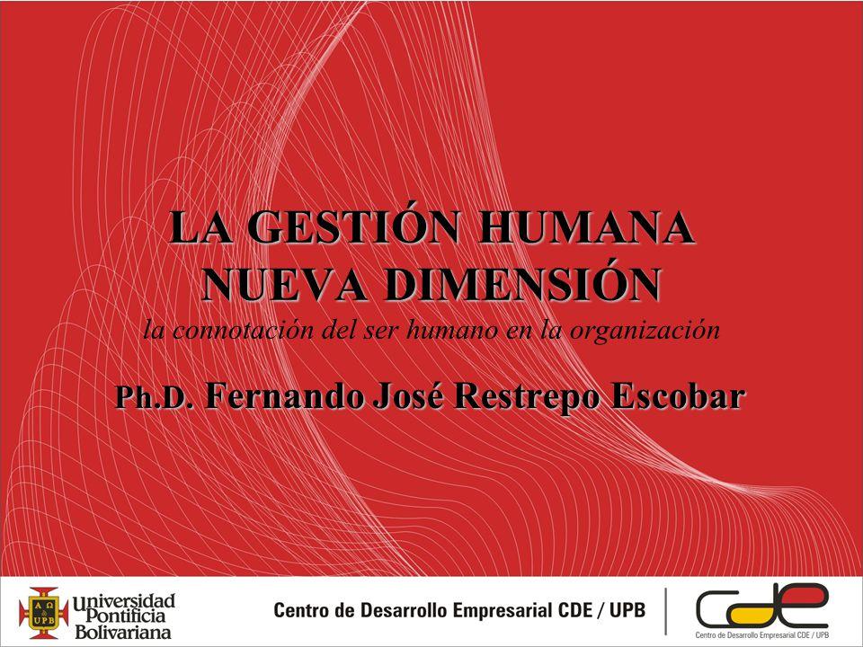 Ph.D. Fernando José Restrepo Escobar