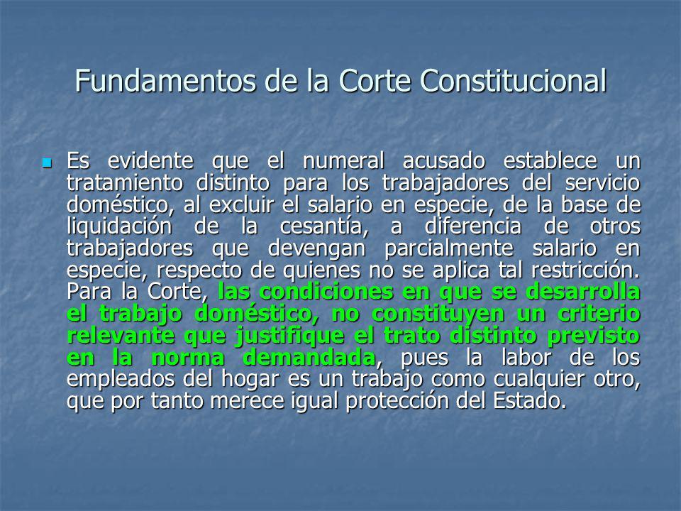 Fundamentos de la Corte Constitucional