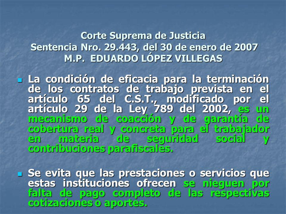 Corte Suprema de Justicia Sentencia Nro. 29
