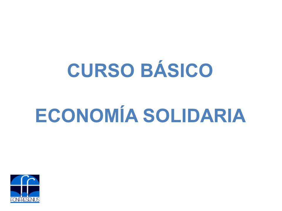 CURSO BÁSICO ECONOMÍA SOLIDARIA