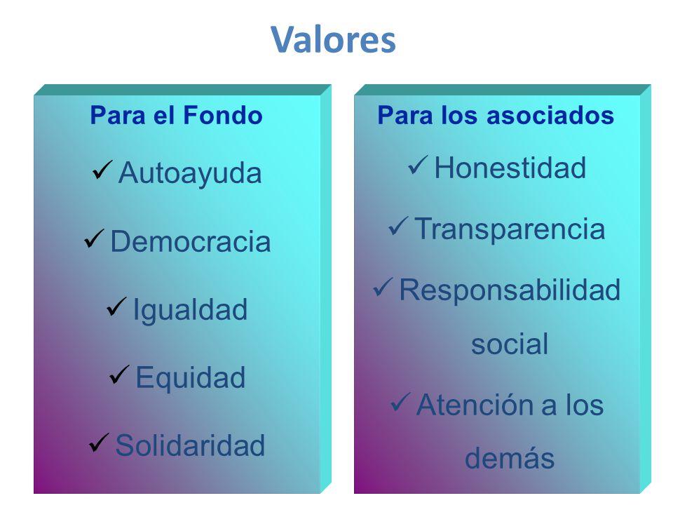Para el Fondo Autoayuda Democracia Igualdad Equidad Solidaridad