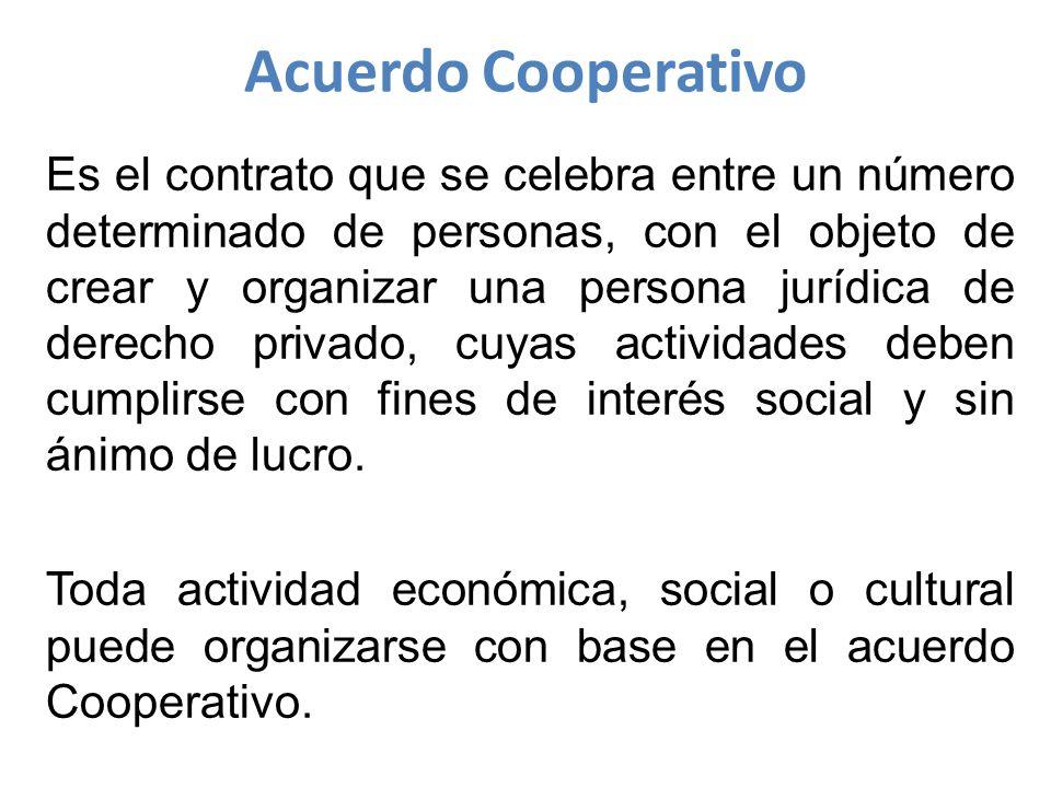 Acuerdo Cooperativo