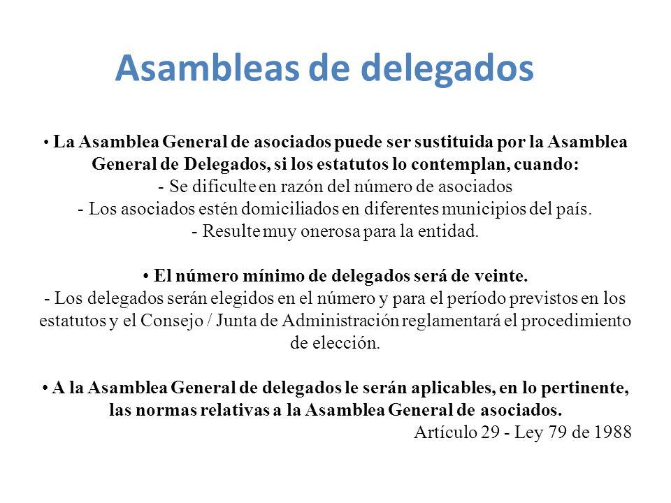 Asambleas de delegados