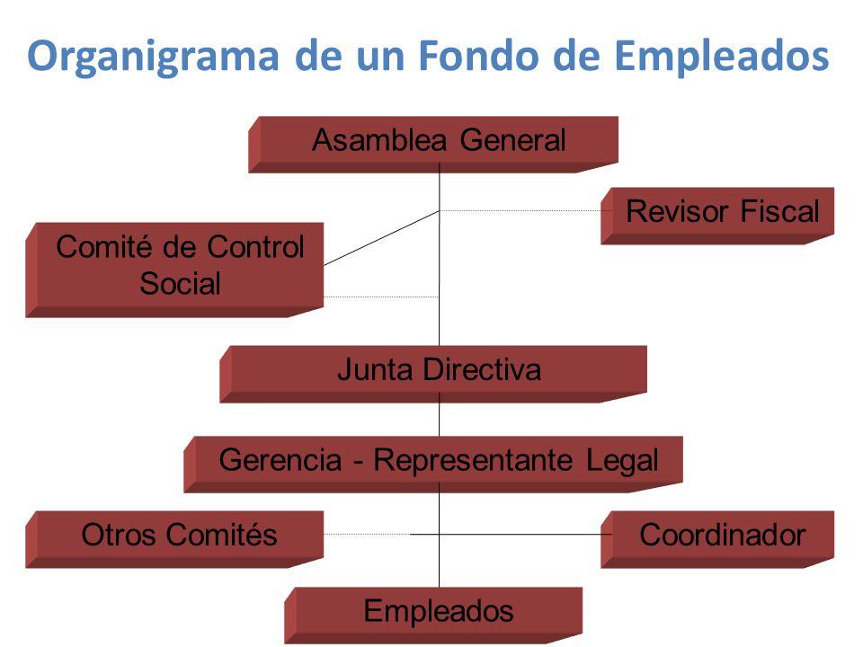 Organigrama de un Fondo de Empleados
