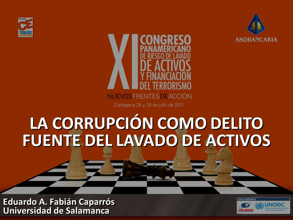 LA CORRUPCIÓN COMO DELITO FUENTE DEL LAVADO DE ACTIVOS