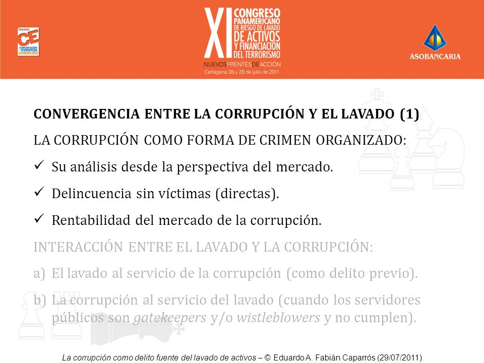 CONVERGENCIA ENTRE LA CORRUPCIÓN Y EL LAVADO (1)