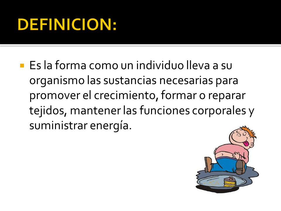 DEFINICION: