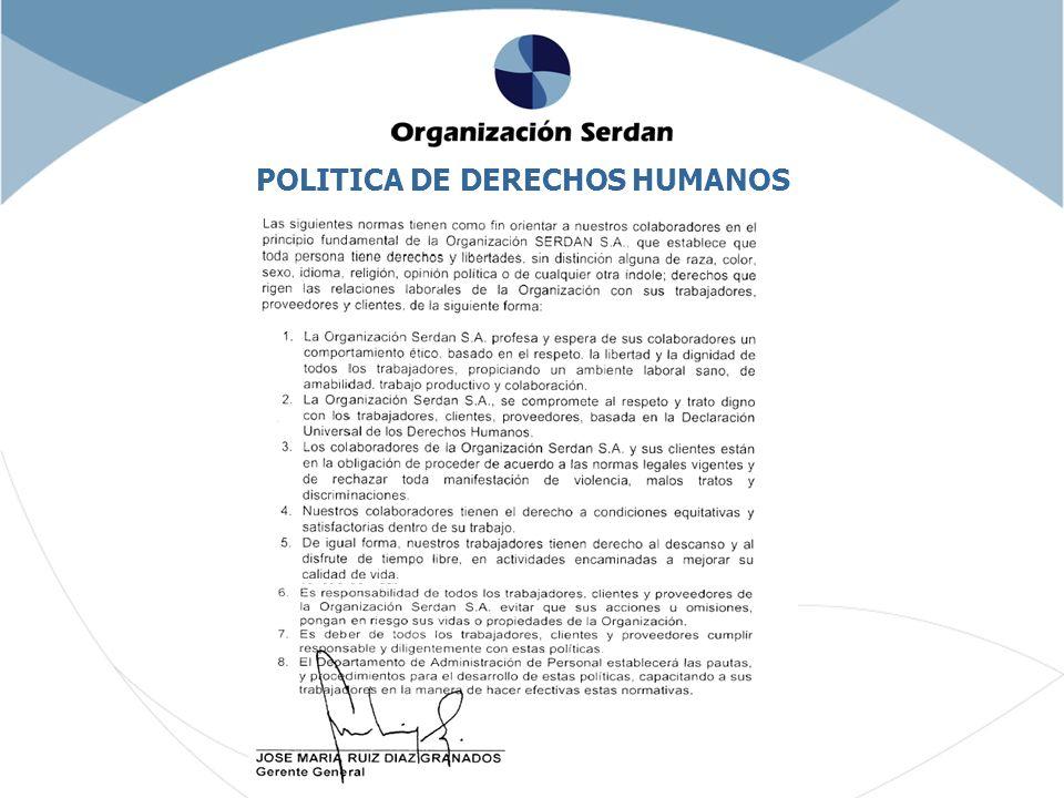 POLITICA DE DERECHOS HUMANOS