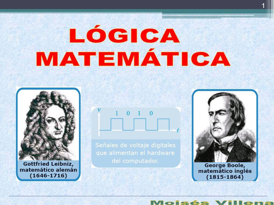 LÓGICA MATEMÁTICA Moisés Villena