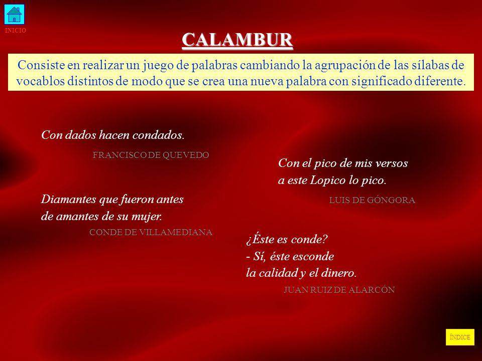 INICIO CALAMBUR.