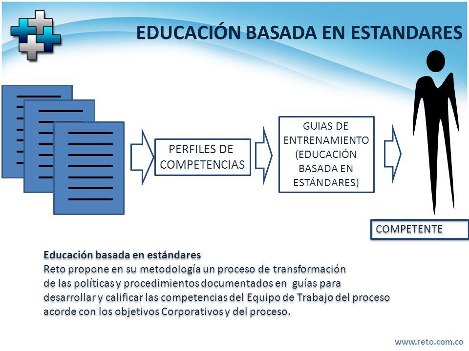 EDUCACIÓN BASADA EN ESTANDARES