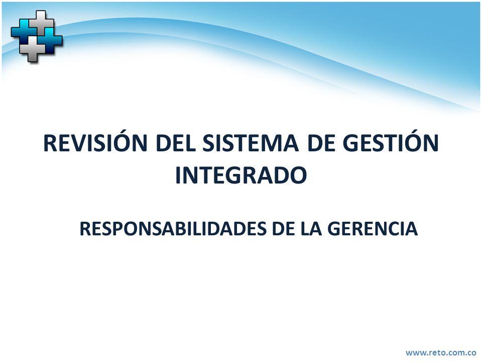 REVISIÓN DEL SISTEMA DE GESTIÓN INTEGRADO