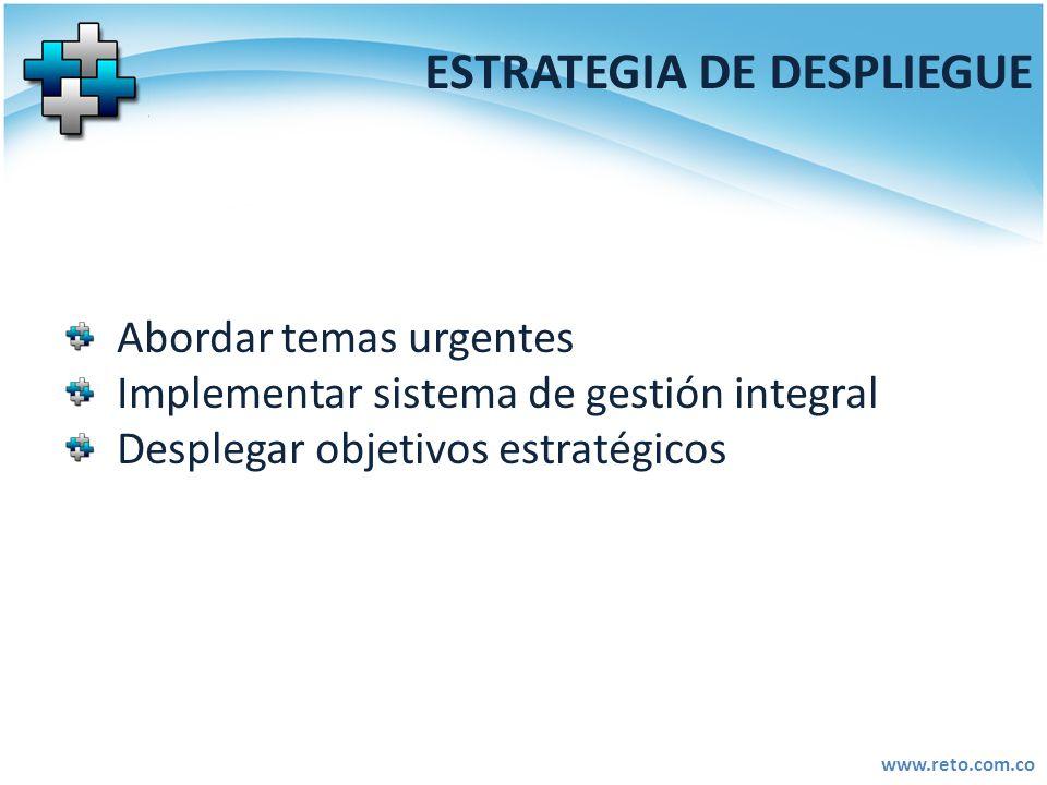 ESTRATEGIA DE DESPLIEGUE