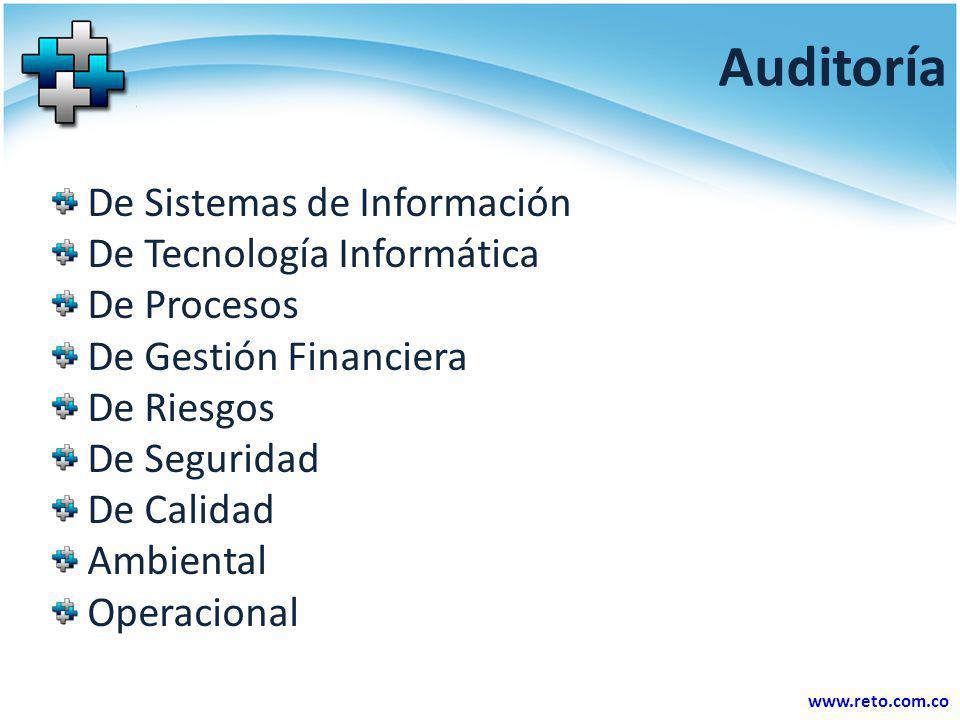 Auditoría De Sistemas de Información De Tecnología Informática