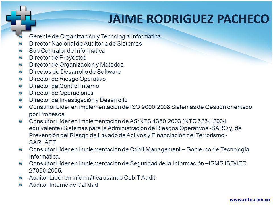 JAIME RODRIGUEZ PACHECO