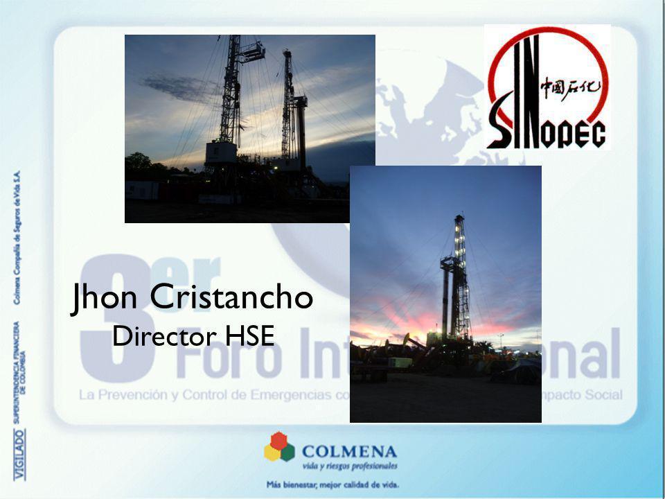 Jhon Cristancho Director HSE