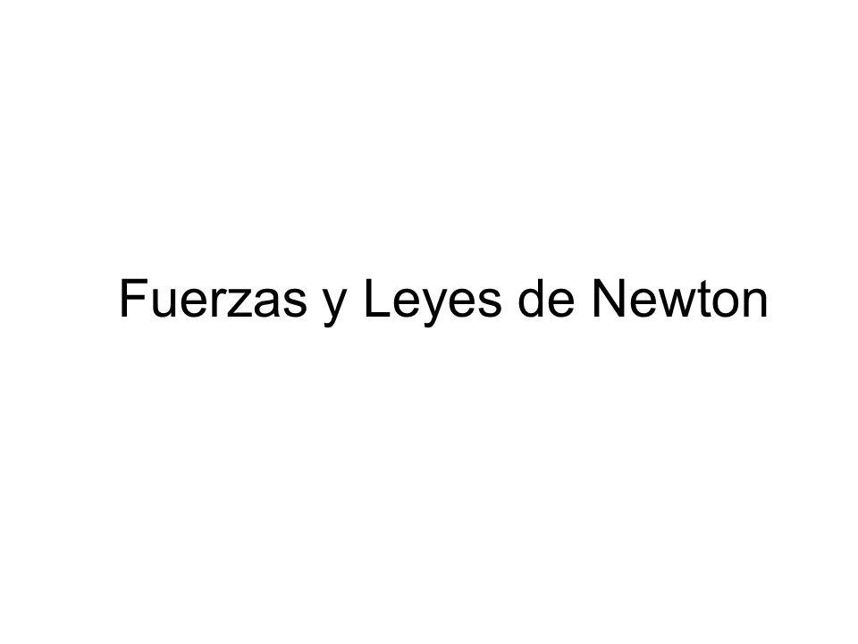 Fuerzas y Leyes de Newton