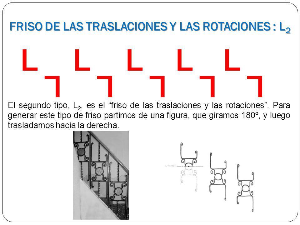 FRISO DE LAS TRASLACIONES Y LAS ROTACIONES : L2