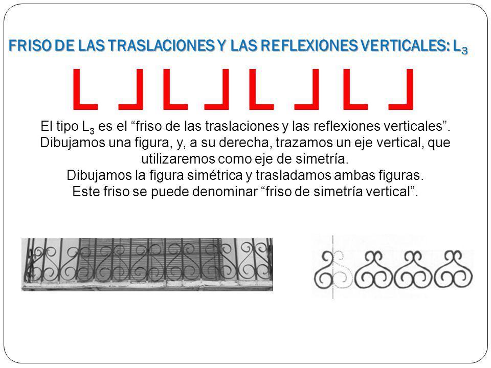 FRISO DE LAS TRASLACIONES Y LAS REFLEXIONES VERTICALES: L3