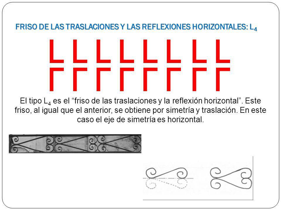 FRISO DE LAS TRASLACIONES Y LAS REFLEXIONES HORIZONTALES: L4