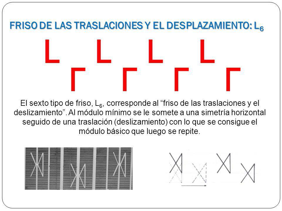 FRISO DE LAS TRASLACIONES Y EL DESPLAZAMIENTO: L6