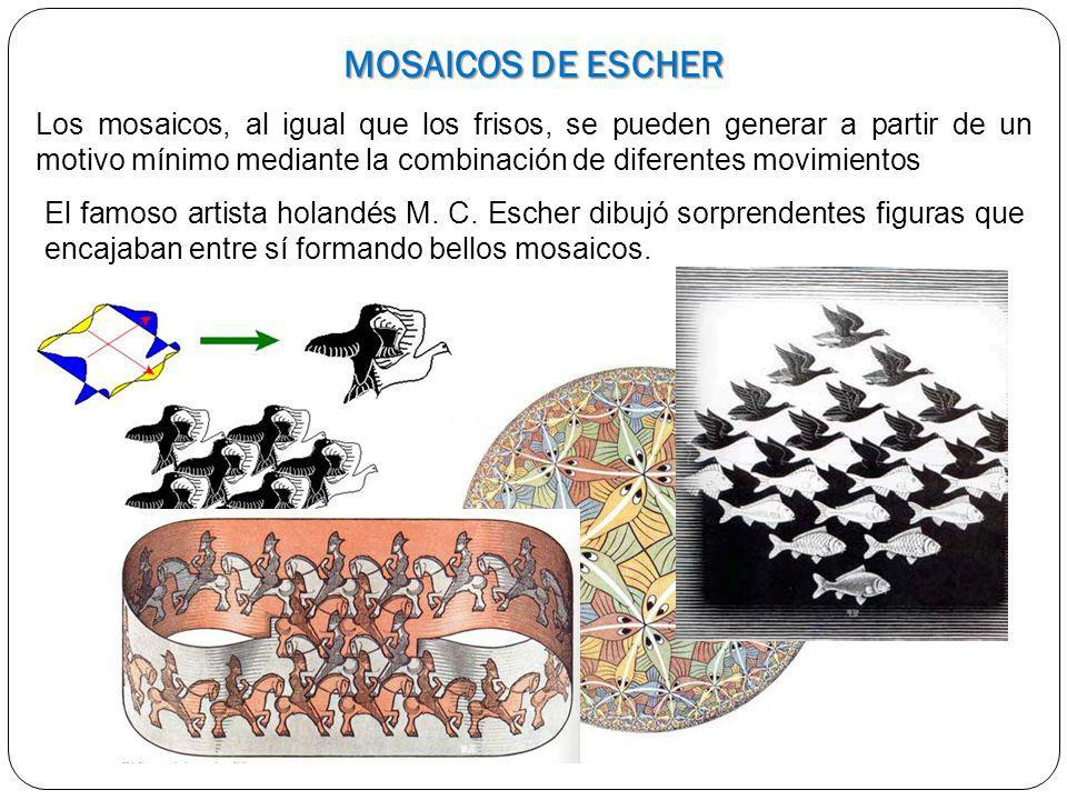 MOSAICOS DE ESCHER
