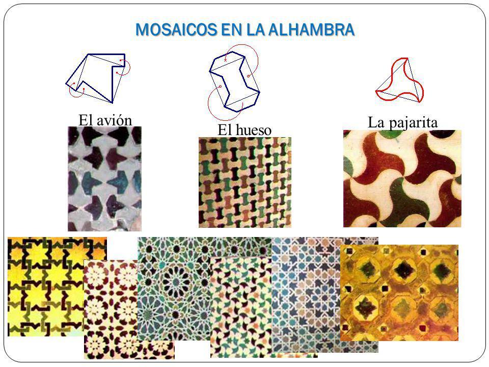 MOSAICOS EN LA ALHAMBRA