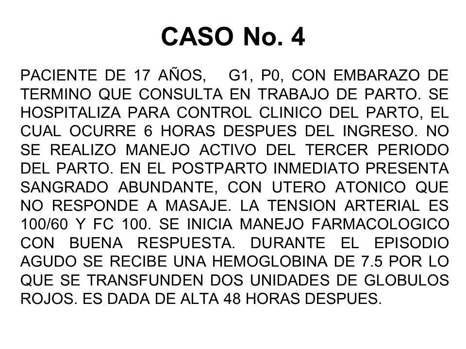 CASO No. 4