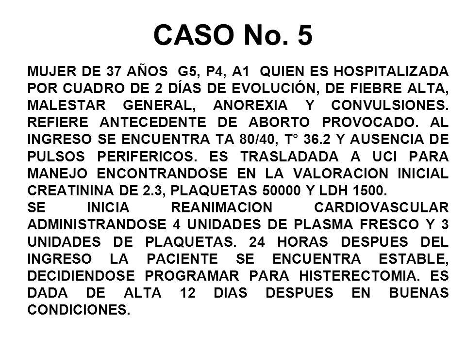 CASO No. 5