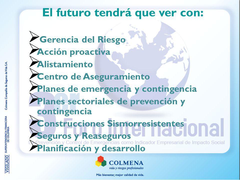 El futuro tendrá que ver con:
