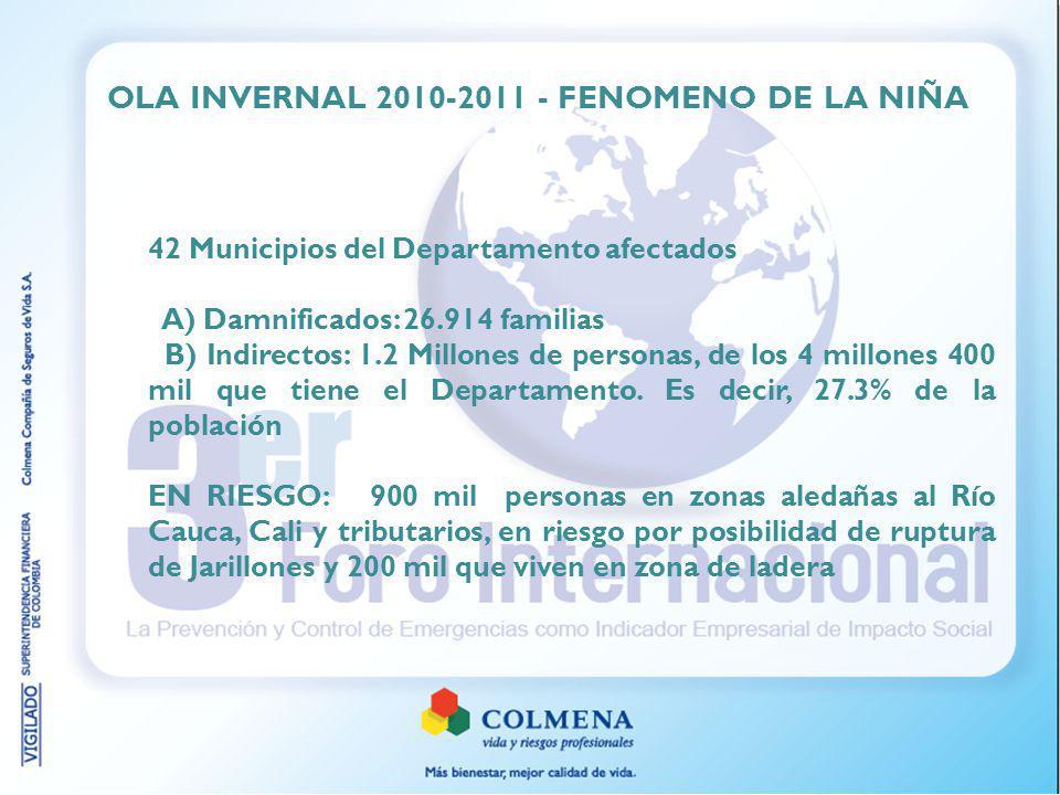 OLA INVERNAL 2010-2011 - FENOMENO DE LA NIÑA