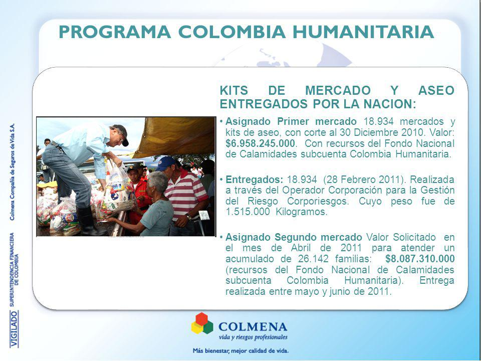 PROGRAMA COLOMBIA HUMANITARIA