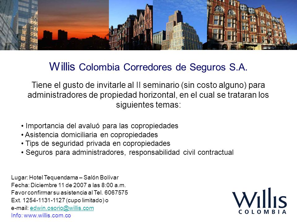 Willis Colombia Corredores de Seguros S.A.