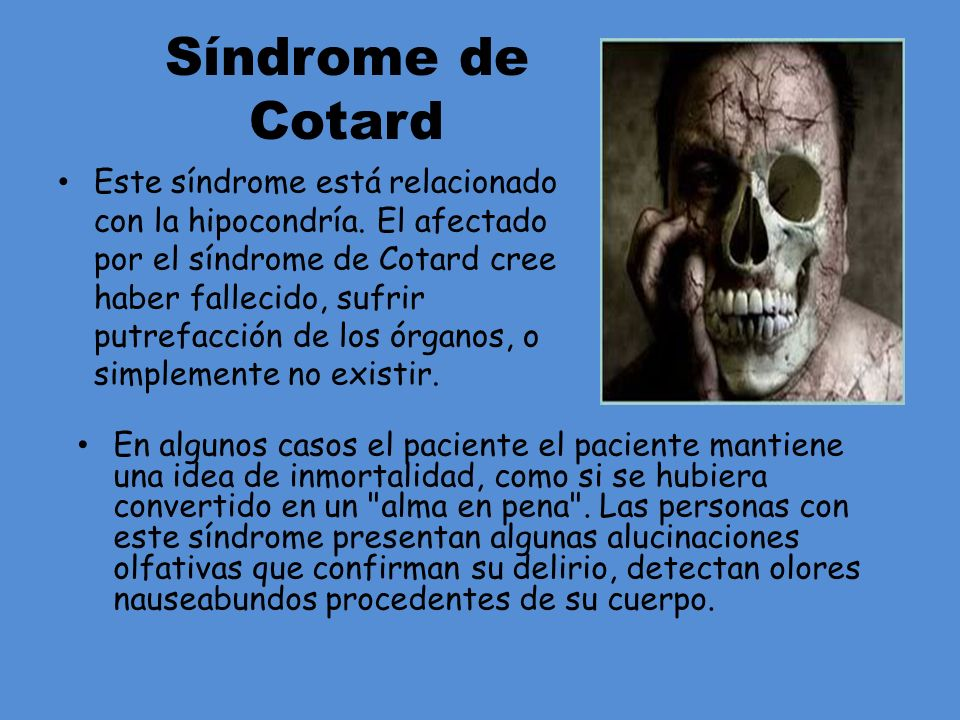 Síndrome de Cotard