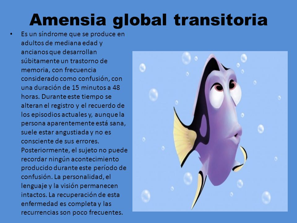 Amensia global transitoria
