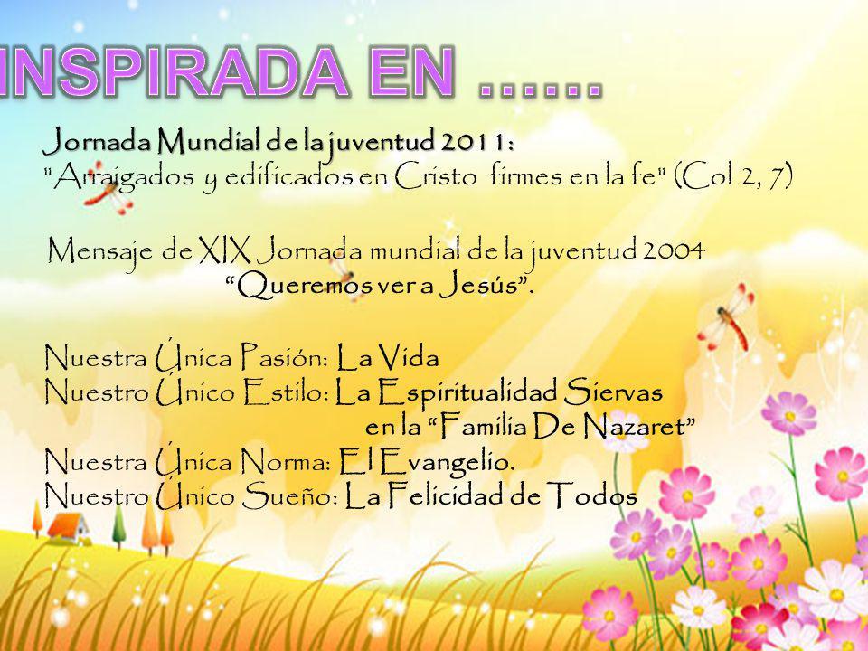 Mensaje de XIX Jornada mundial de la juventud 2004