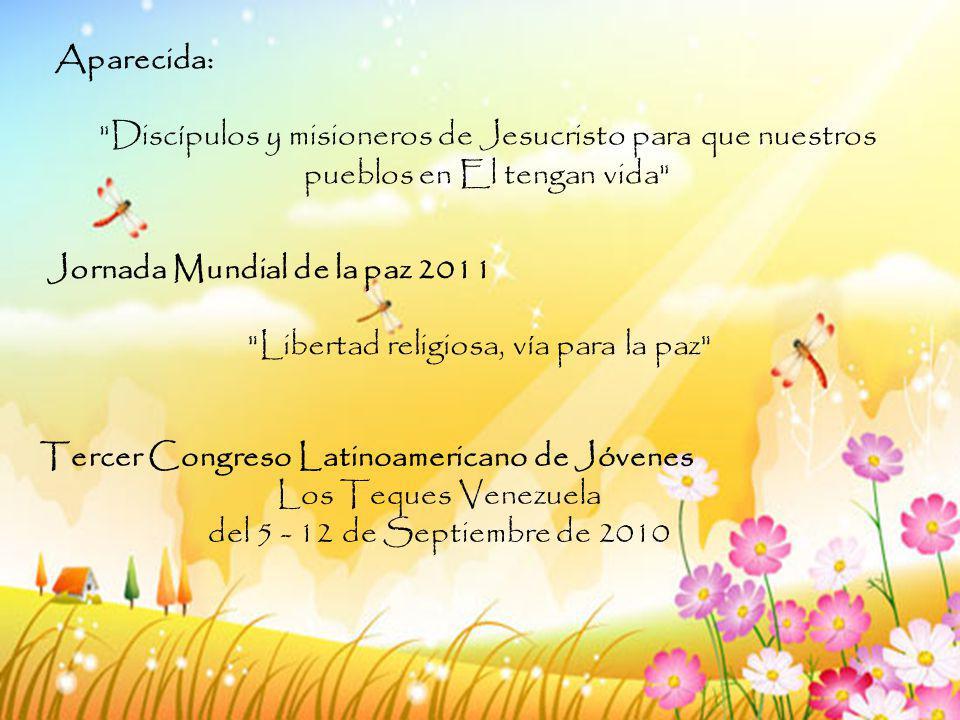 Libertad religiosa, vía para la paz