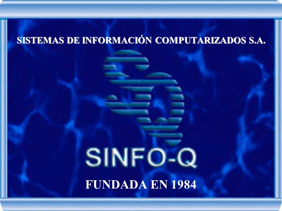 SISTEMAS DE INFORMACIÓN COMPUTARIZADOS S.A.