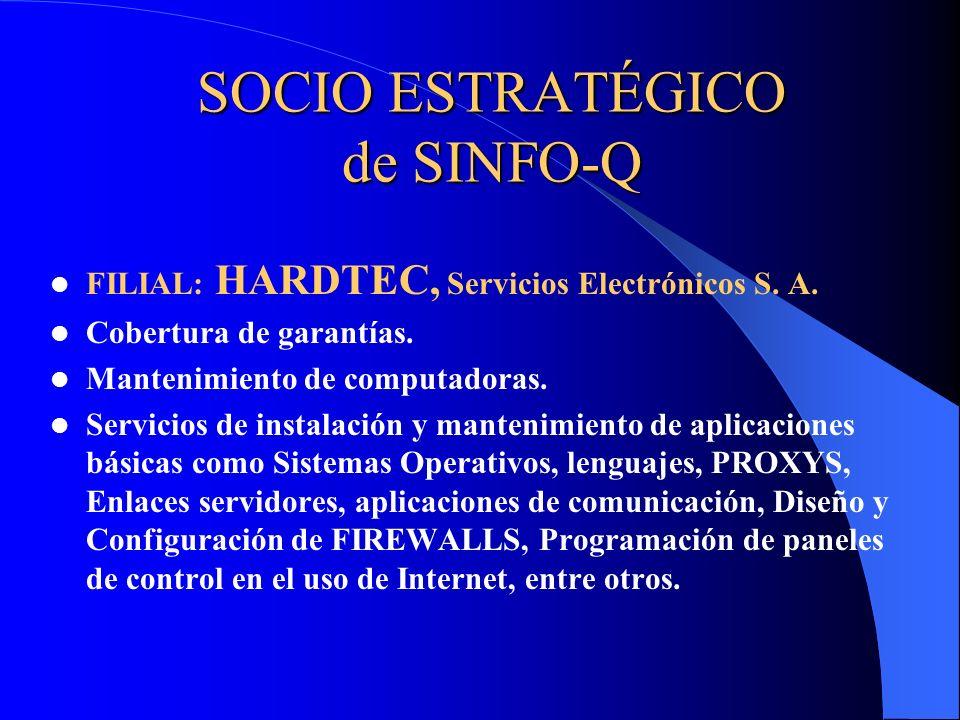 SOCIO ESTRATÉGICO de SINFO-Q