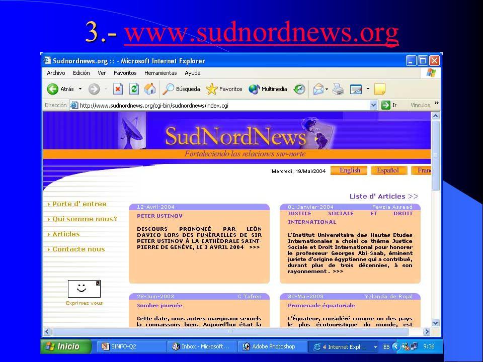 3.- www.sudnordnews.org