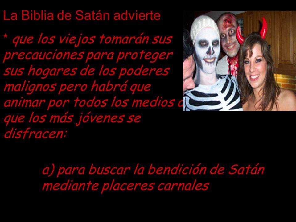 La Biblia de Satán advierte
