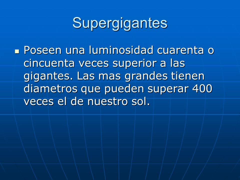Supergigantes