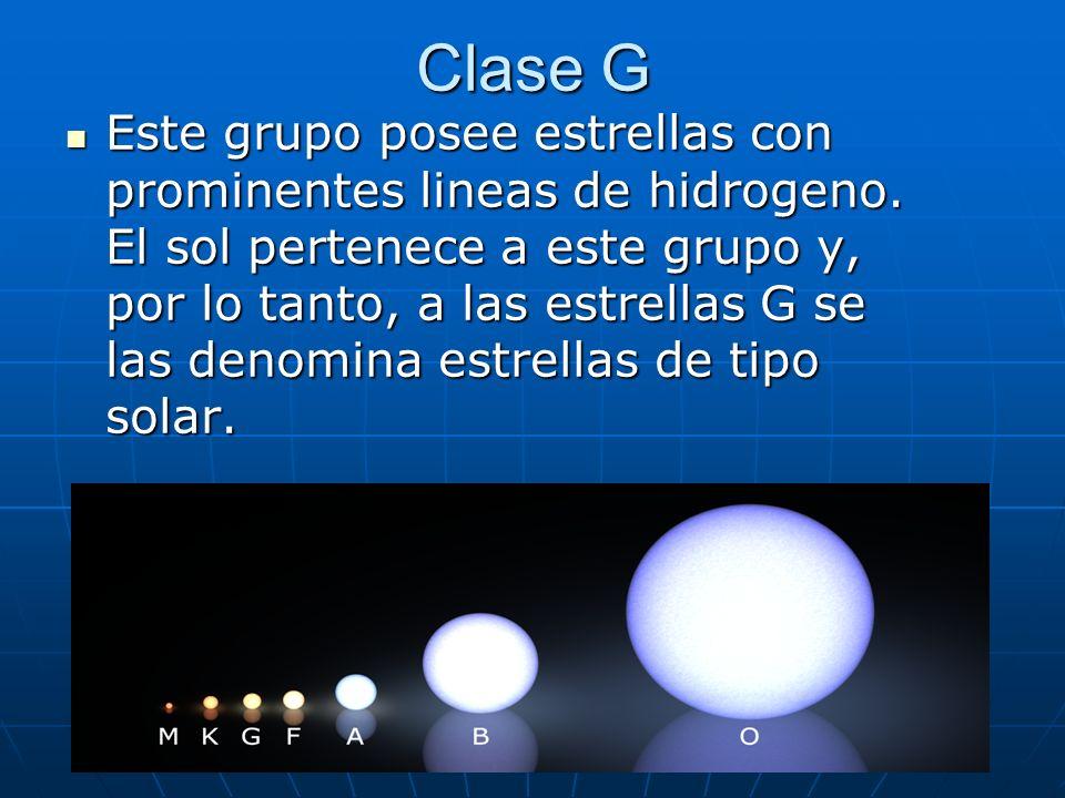 Clase G