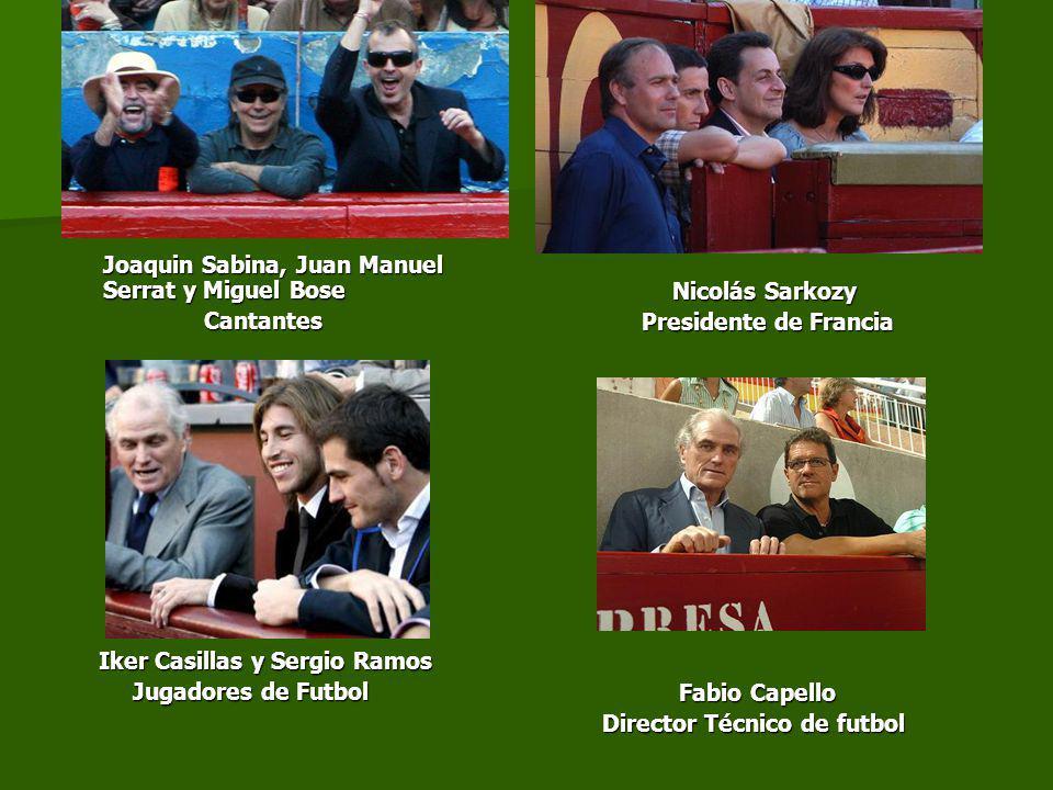 Joaquin Sabina, Juan Manuel Serrat y Miguel Bose