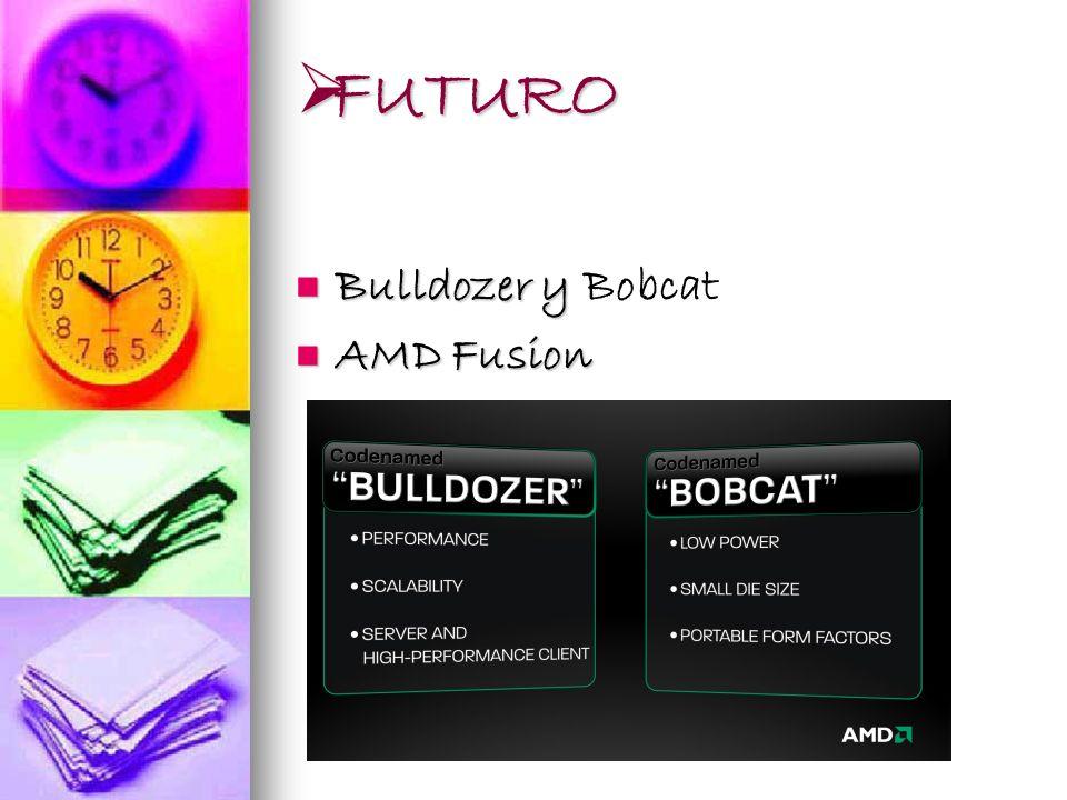 FUTURO Bulldozer y Bobcat AMD Fusion