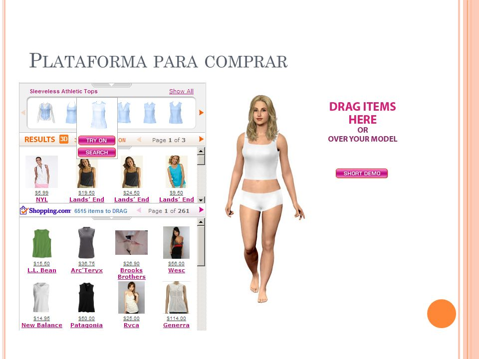 Plataforma para comprar