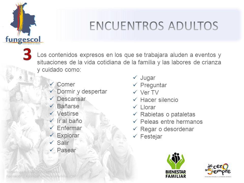 ENCUENTROS ADULTOS 3.