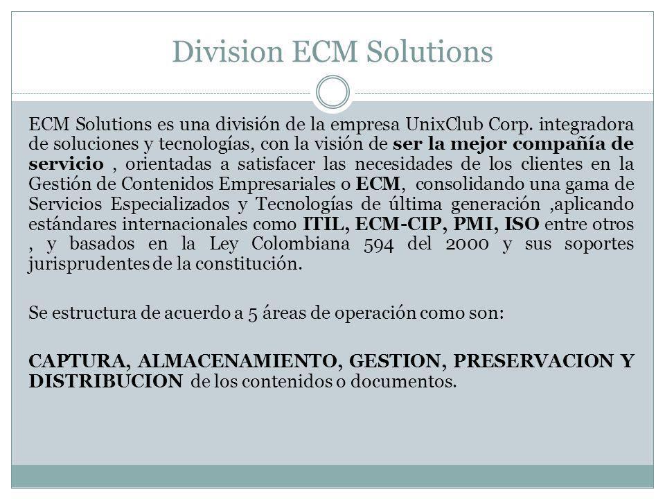 Division ECM Solutions